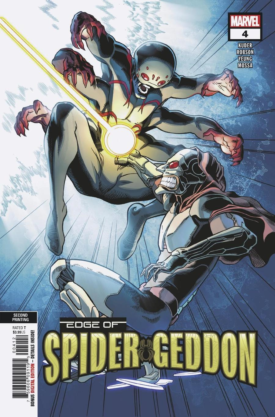 Edge Of Spider-Geddon #4 Cover C 2nd Ptg Variant Aaron Kuder Cover
