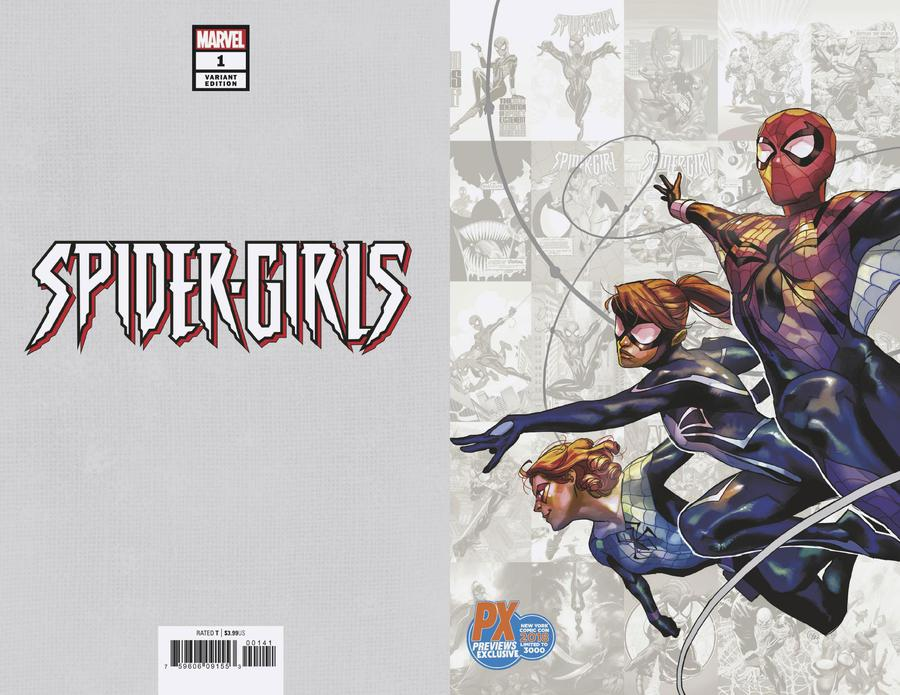 Spider-Girls #1 Cover D NYCC 2018 Exclusive Yasmine Putri Variant Cover