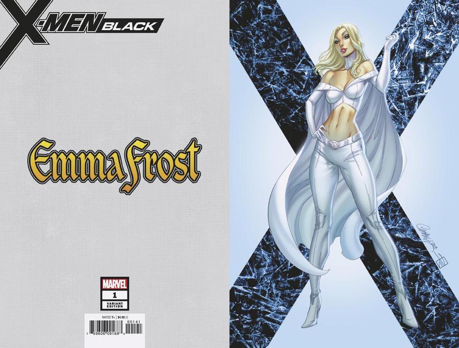 X-Men Black Emma Frost #1 Cover D Incentive J Scott Campbell Virgin Cover