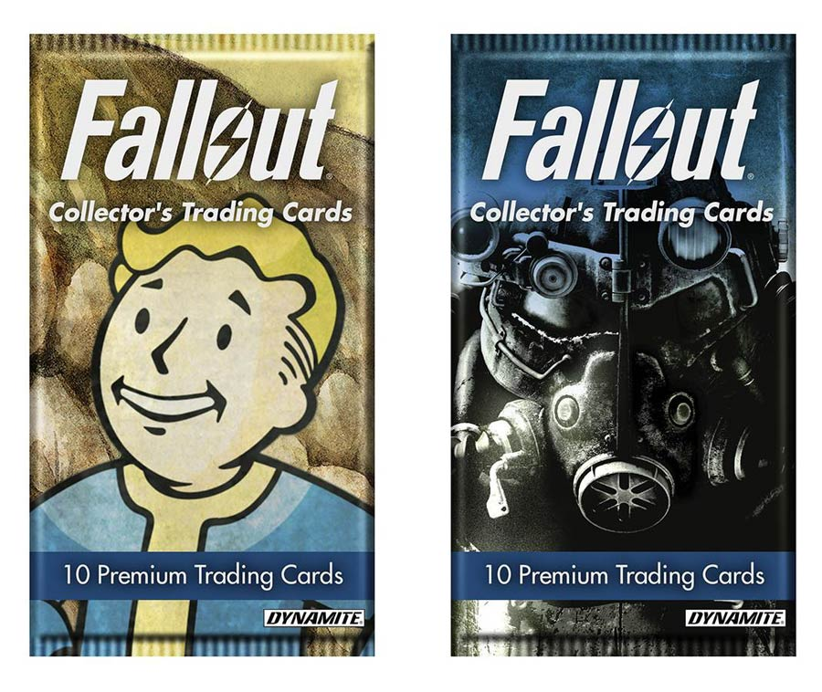 Fallout Trading Card Pack