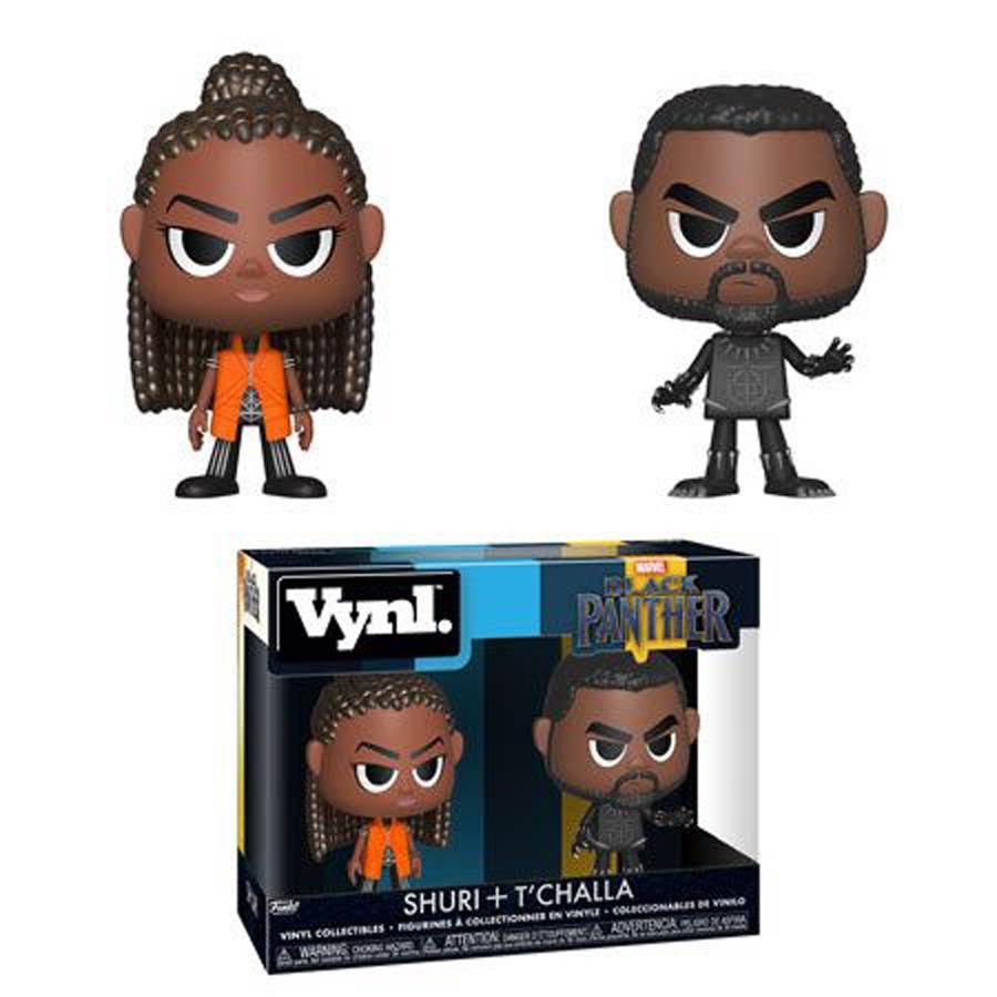 Vynl. Black Panther TChalla And Shuri 2-Pack Vinyl Figure