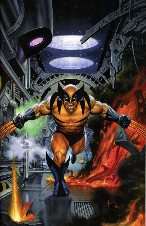 Return Of Wolverine #1  Midtown Exclusive Cover B NYCC Joe Jusko Virgin Variant Cover
