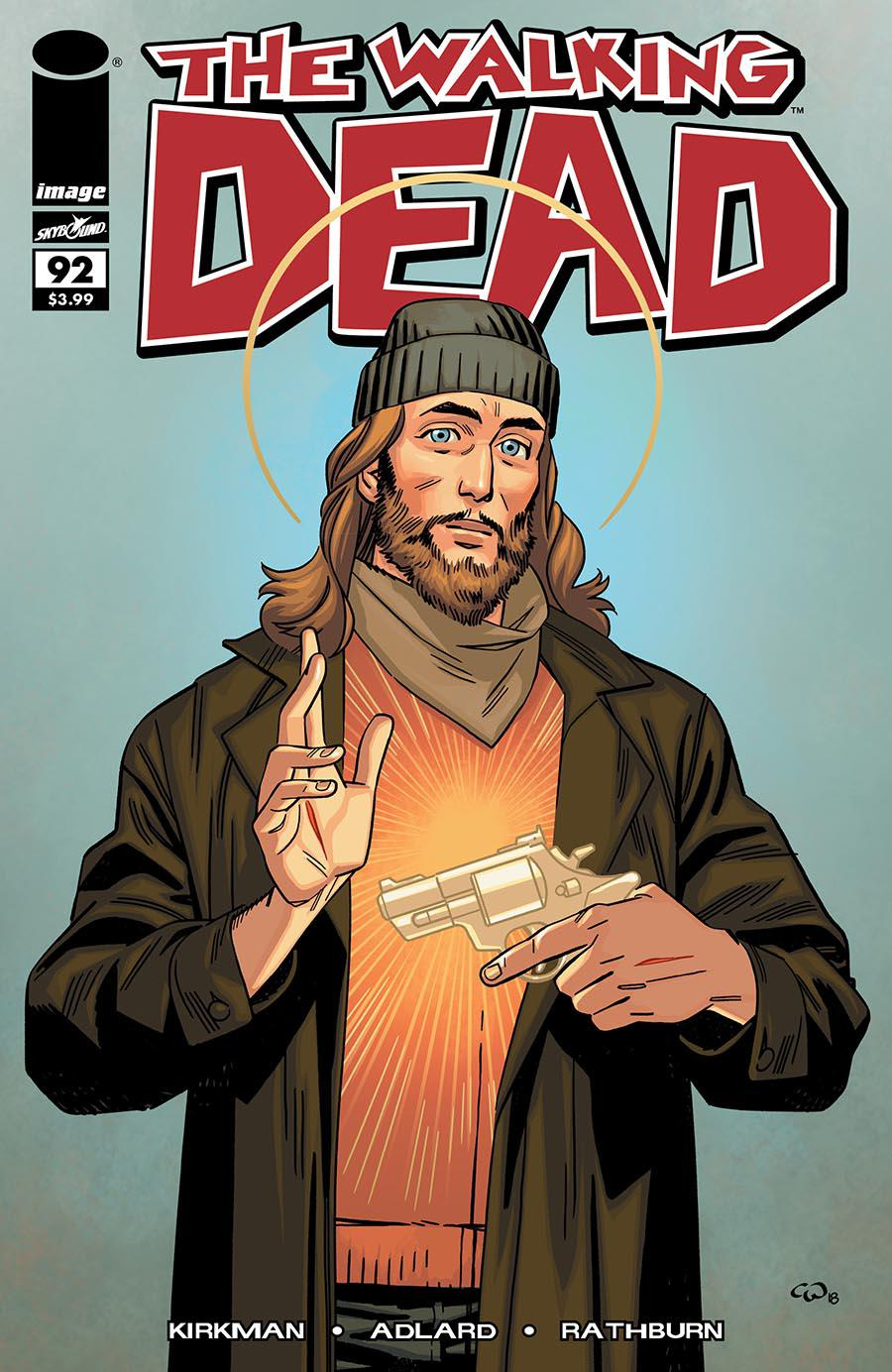 Walking Dead 15th Anniversary Blind Bag Edition #92 Cover B Cory Walker Color Cover Without Polybag