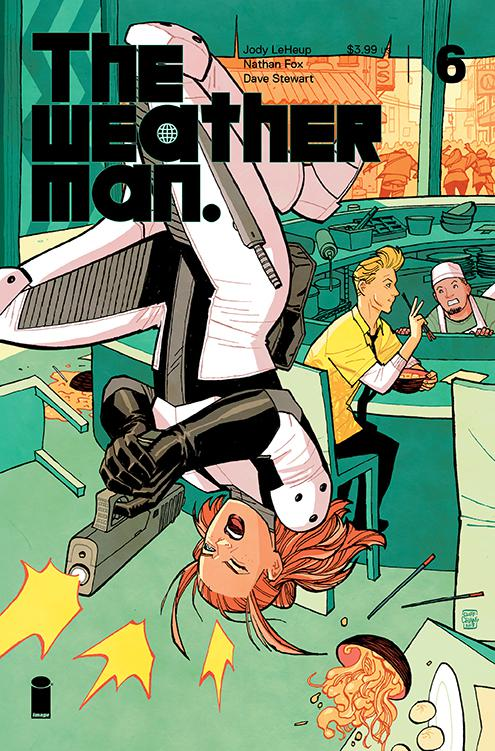 Weatherman #6 Cover C Incentive Cliff Chiang Variant Cover