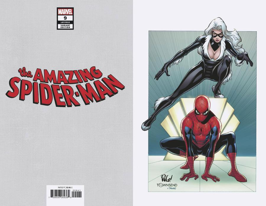 Amazing Spider-Man Vol 5 #9 Cover D Incentive Mike Wieringo Black Cat Virgin Variant Cover