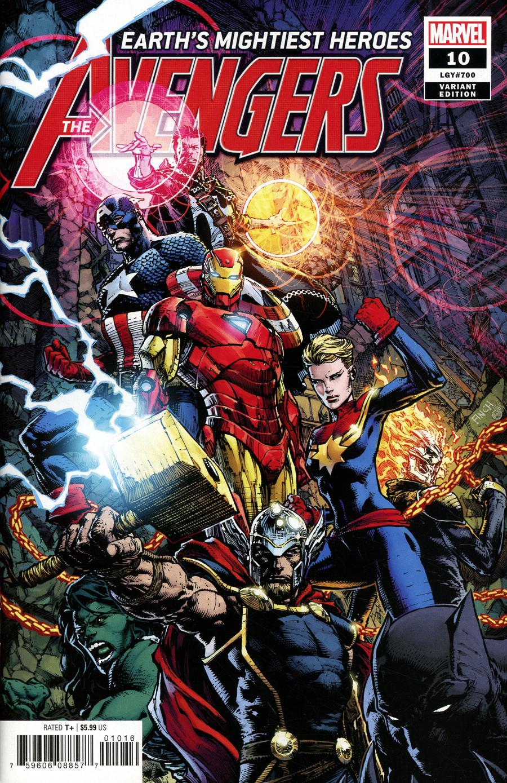 Avengers Vol 7 #10 Cover E Variant David Finch Cover (#700)