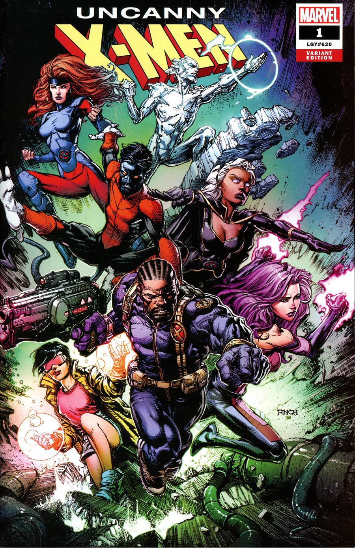 Uncanny X-Men Vol 5 #1 Cover I Variant David Finch Cover
