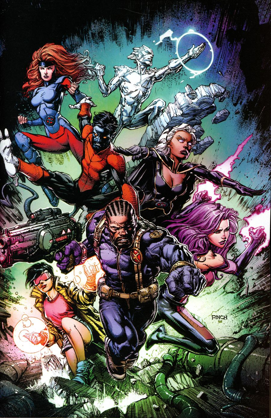 Uncanny X-Men Vol 5 #1 Cover O Incentive David Finch Virgin Variant Cover