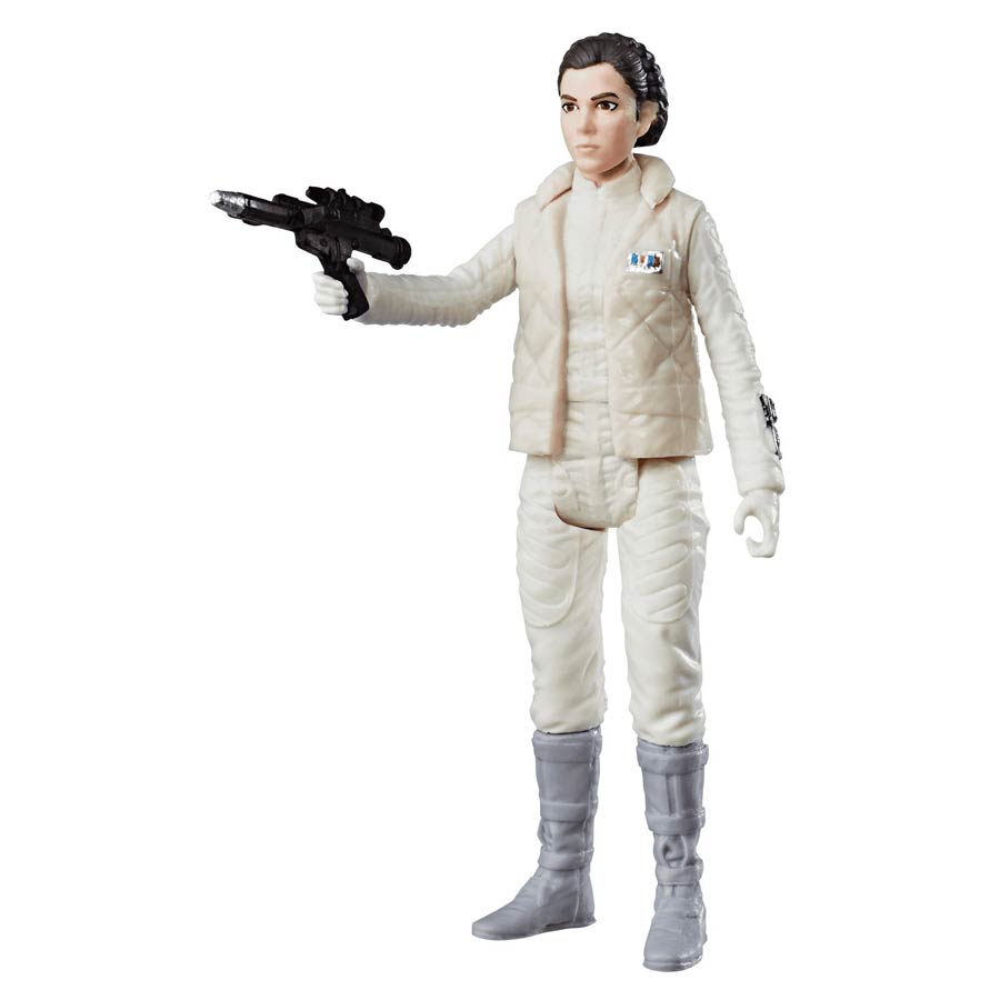 Star Wars Universe Episode V The Empire Strikes Back Princess Leia 3.75-Inch Action Figure