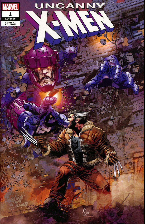 LCSD 2018 Uncanny X-Men Vol 5 #1 Variant Mike Deodato Jr Cover