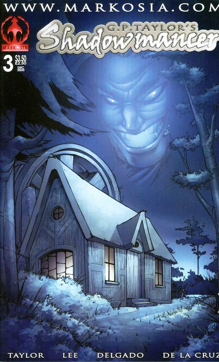 Shadowmancer #3 Cover B