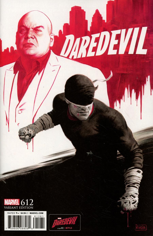 Daredevil Vol 5 #612 Cover D Incentive TV Variant Cover