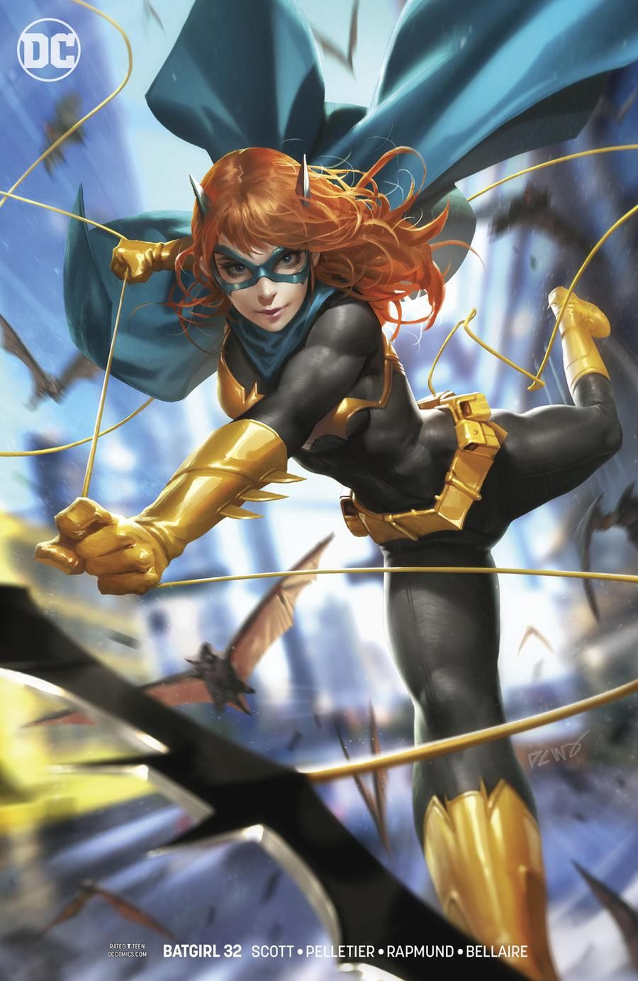Batgirl Vol 5 #32 Cover B Variant Derrick Chew Cover