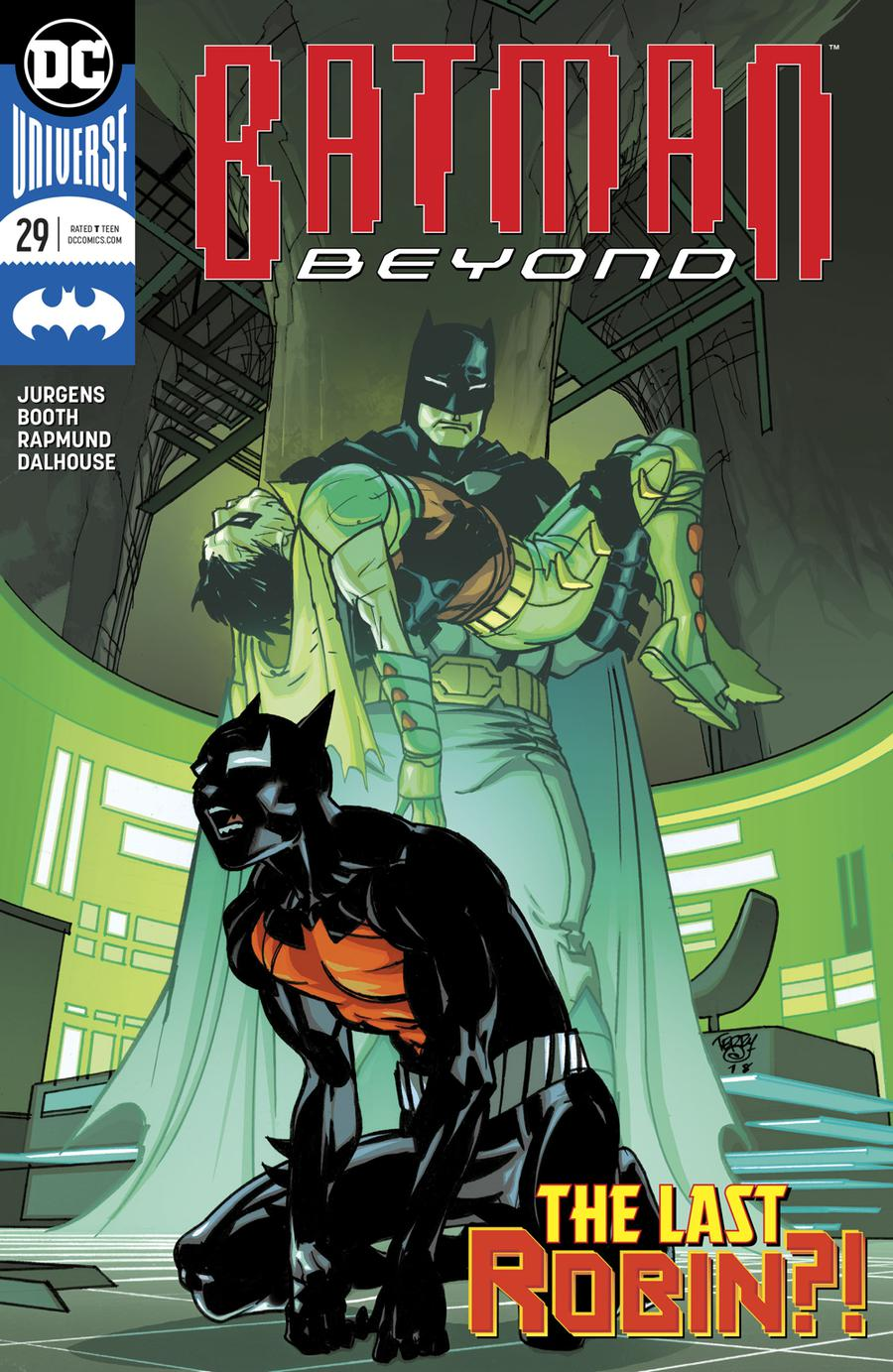 Batman Beyond Vol 6 #29 Cover A Regular Pasqual Ferry Cover