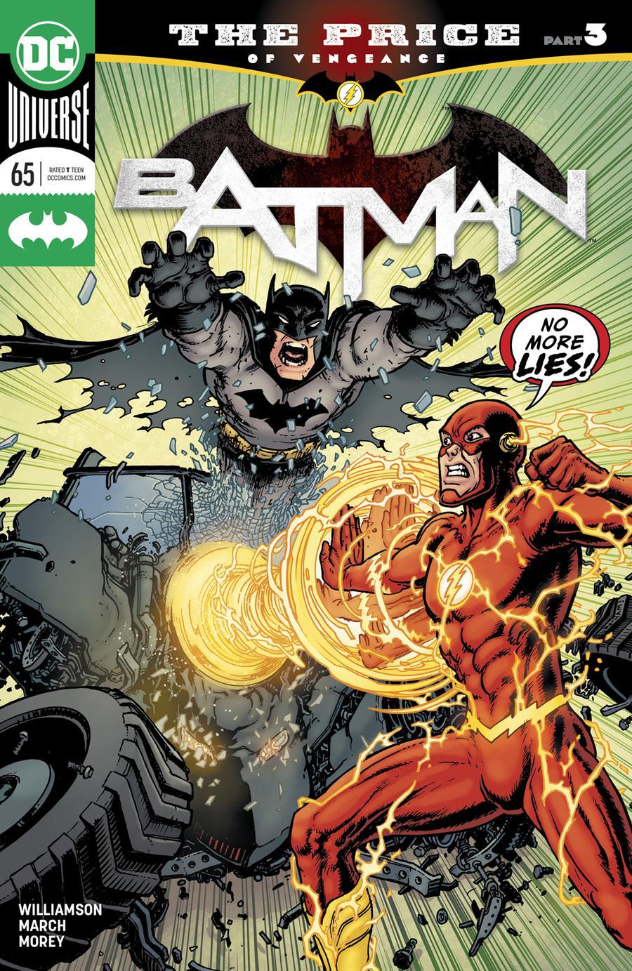 Batman Vol 3 #65 Cover A Regular Chris Burnham Cover (The Price Part 3)(Heroes In Crisis Tie-In)