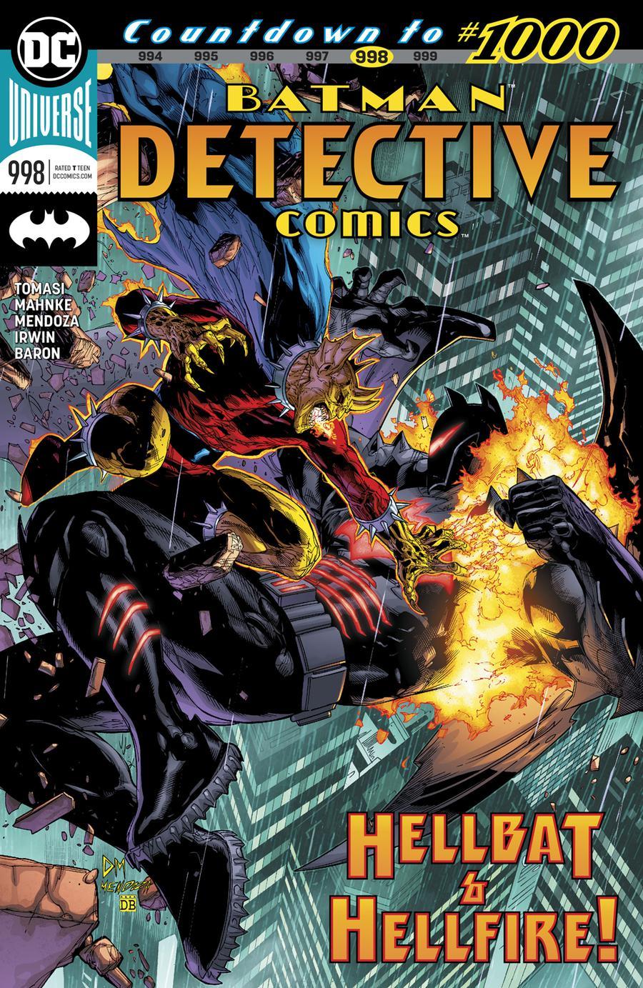 Detective Comics Vol 2 #998 Cover A Regular Doug Mahnke & Jaime Mendoza Cover