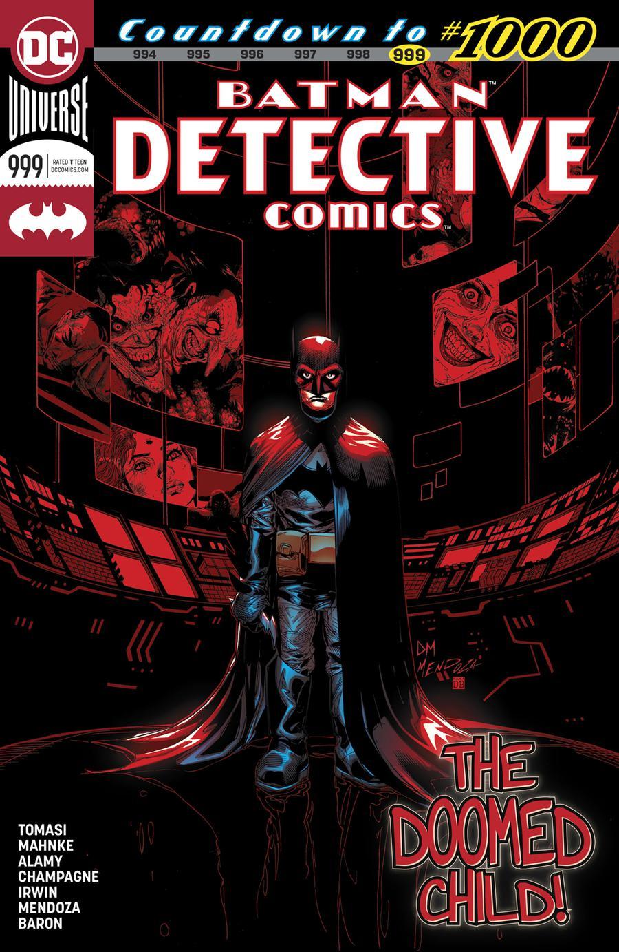 Detective Comics Vol 2 #999 Cover A Regular Doug Mahnke & Jaime Mendoza Cover