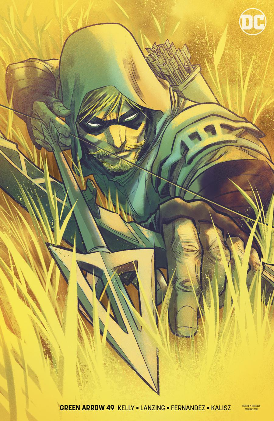 Green Arrow Vol 7 #49 Cover B Variant Francis Manapul Cover