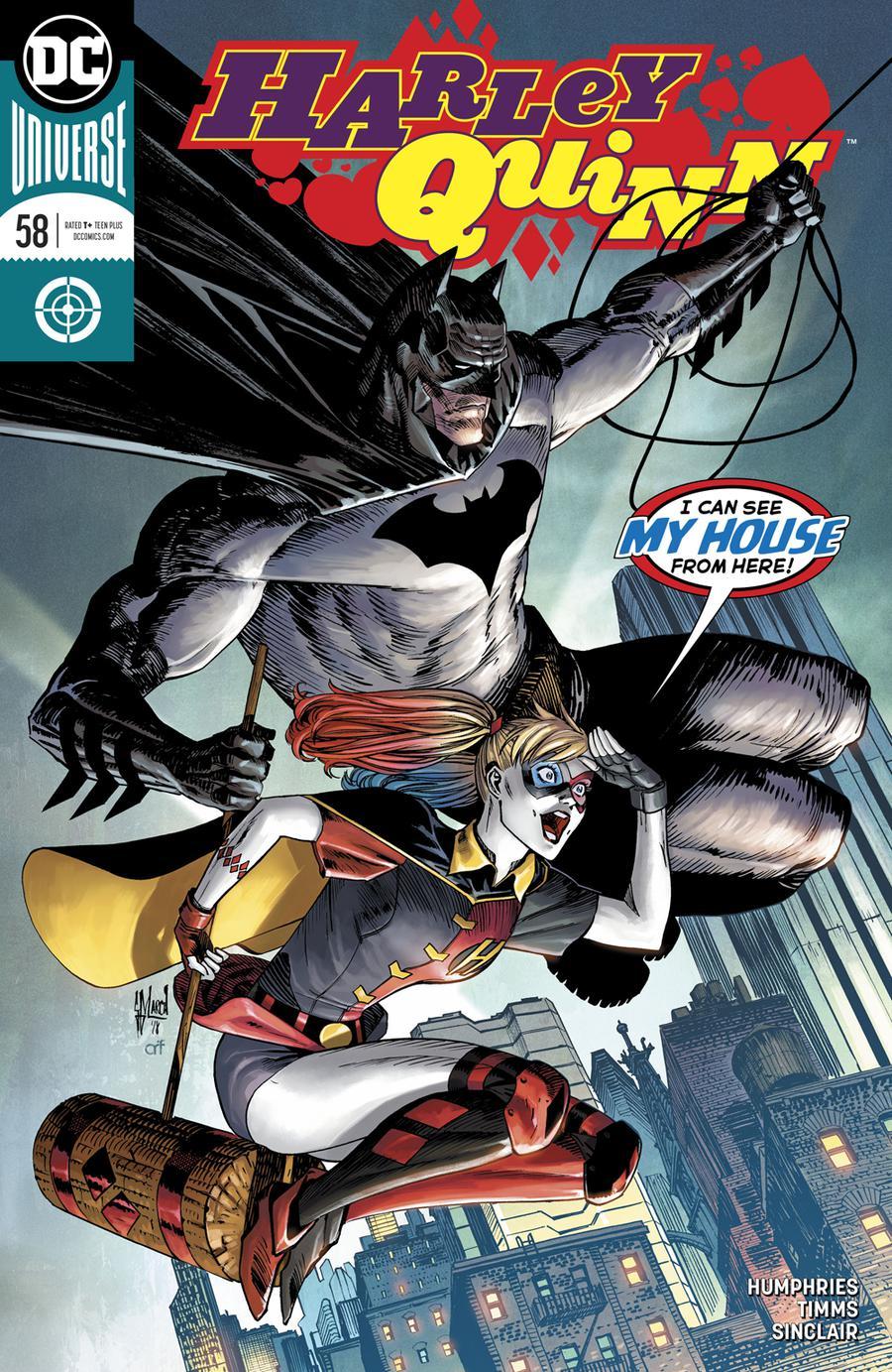 Harley Quinn Vol 3 #58 Cover A Regular Guillem March Cover