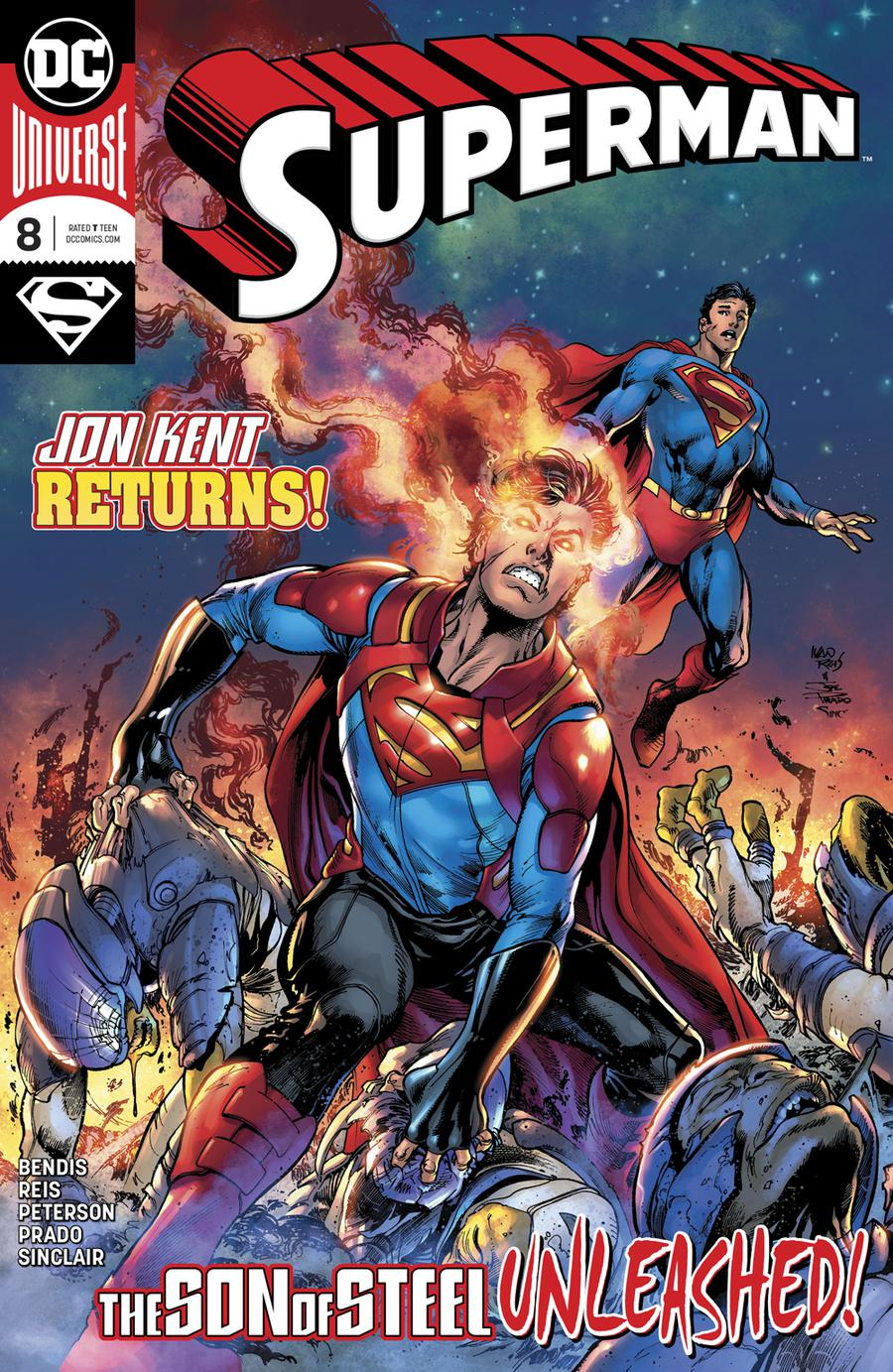 Superman Vol 6 #8 Cover A Regular Ivan Reis & Joe Prado Cover
