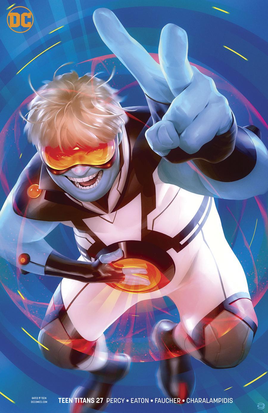Teen Titans Vol 6 #27 Cover B Variant Alex Garner Cover