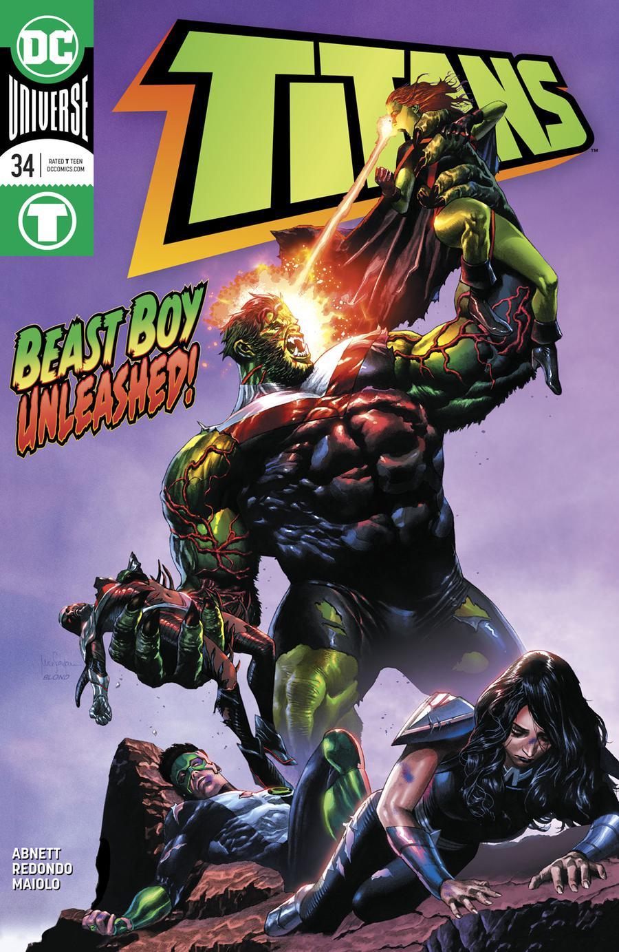 Titans Vol 3 #34 Cover A Regular Mico Suayan Cover