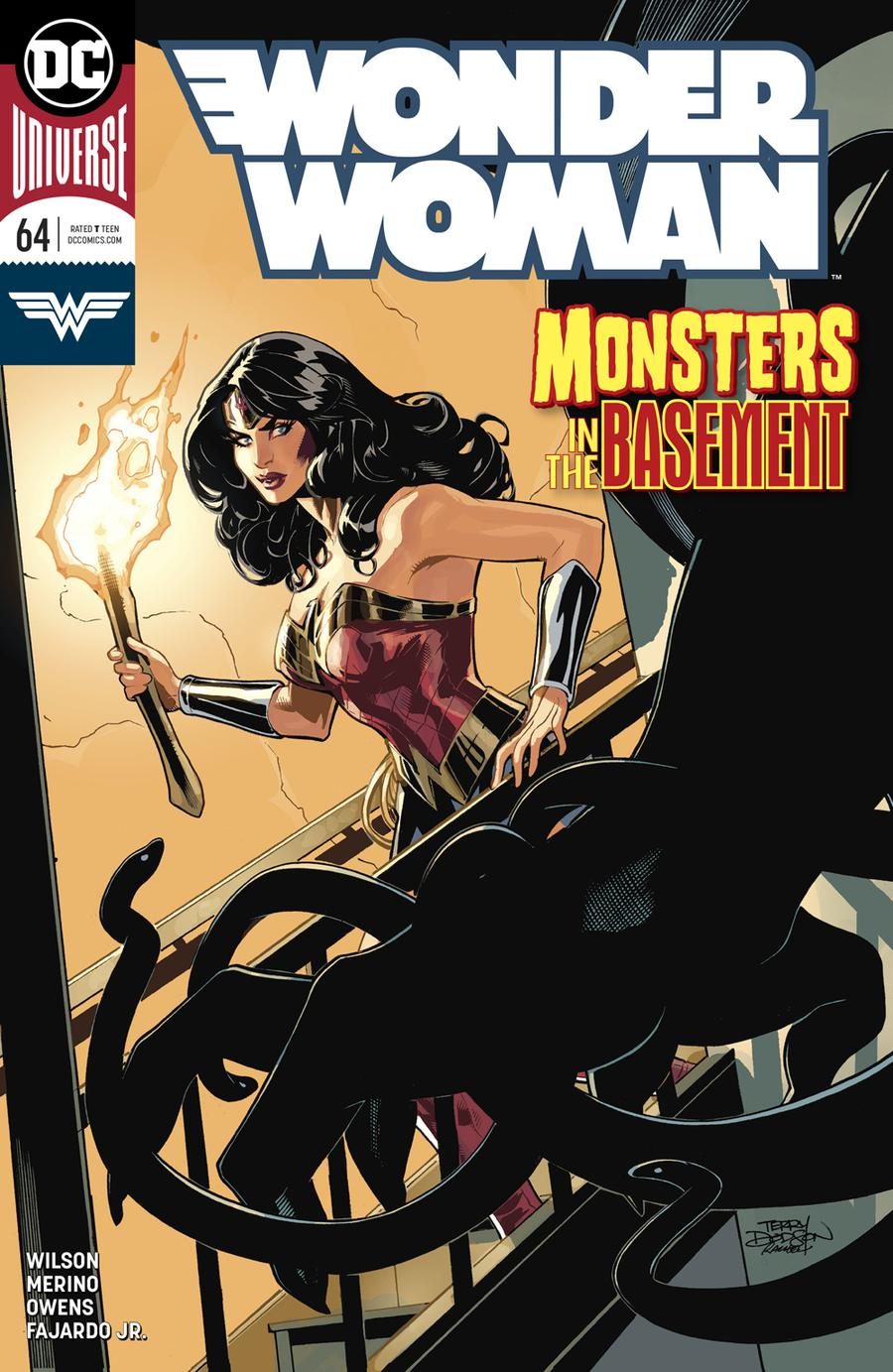 Wonder Woman Vol 5 #64 Cover A Regular Terry Dodson & Rachel Dodson Cover