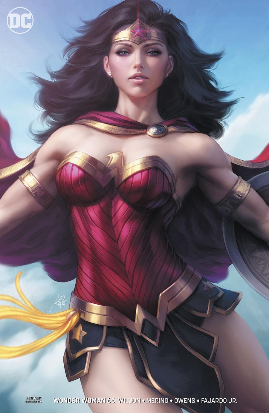 Wonder Woman Vol 5 #65 Cover B Variant Stanley Artgerm Lau Cover