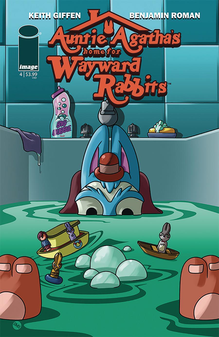 Auntie Agathas Home For Wayward Rabbits #4