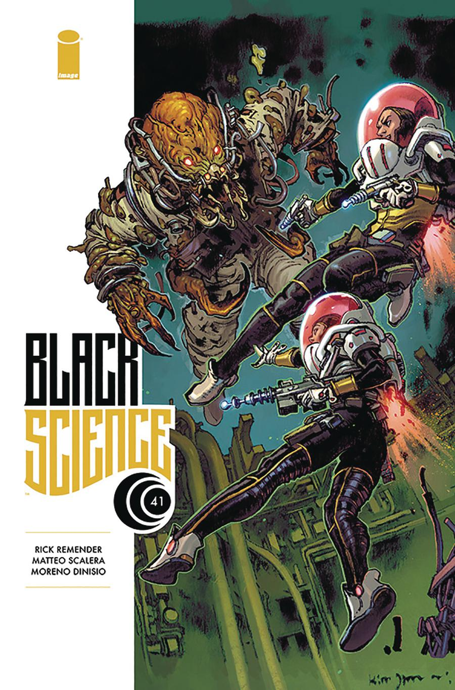 Black Science #41 Cover B Variant Kim Jung Gi Cover