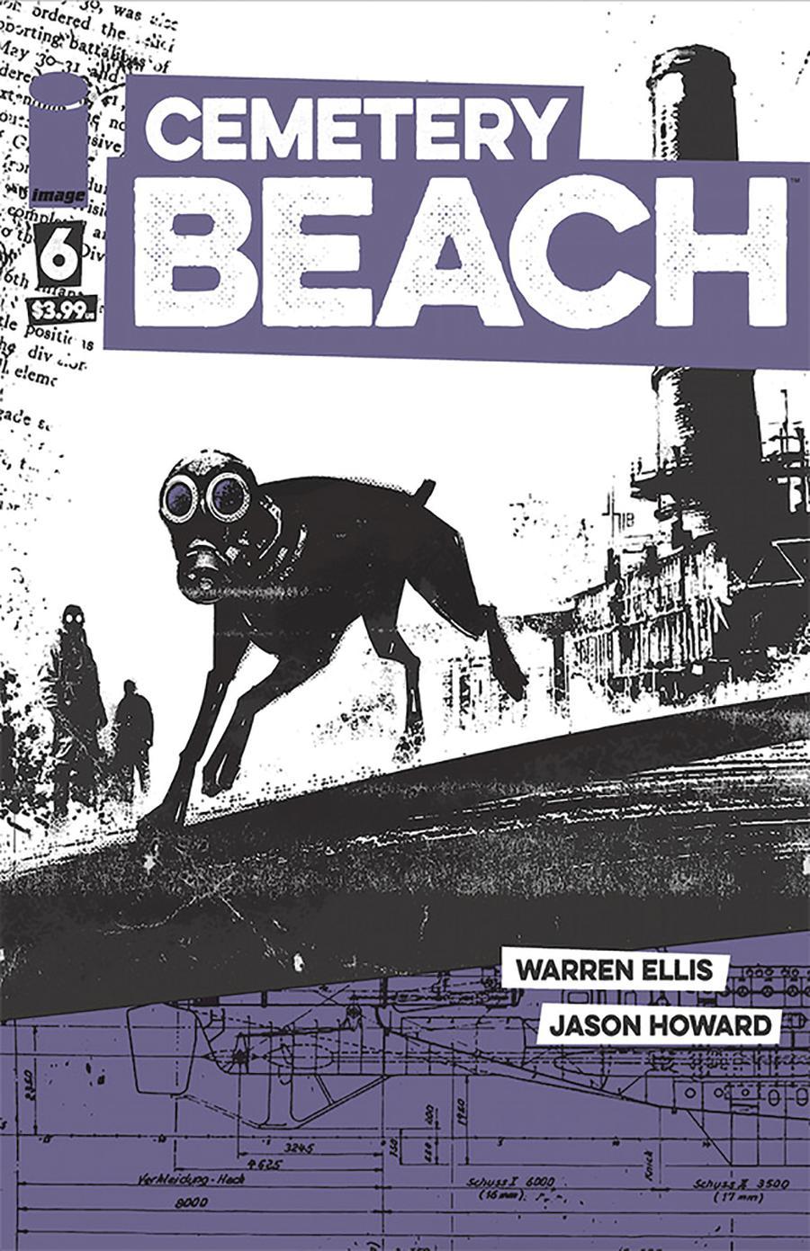 Cemetery Beach #6 Cover A Regular Jason Howard Cover