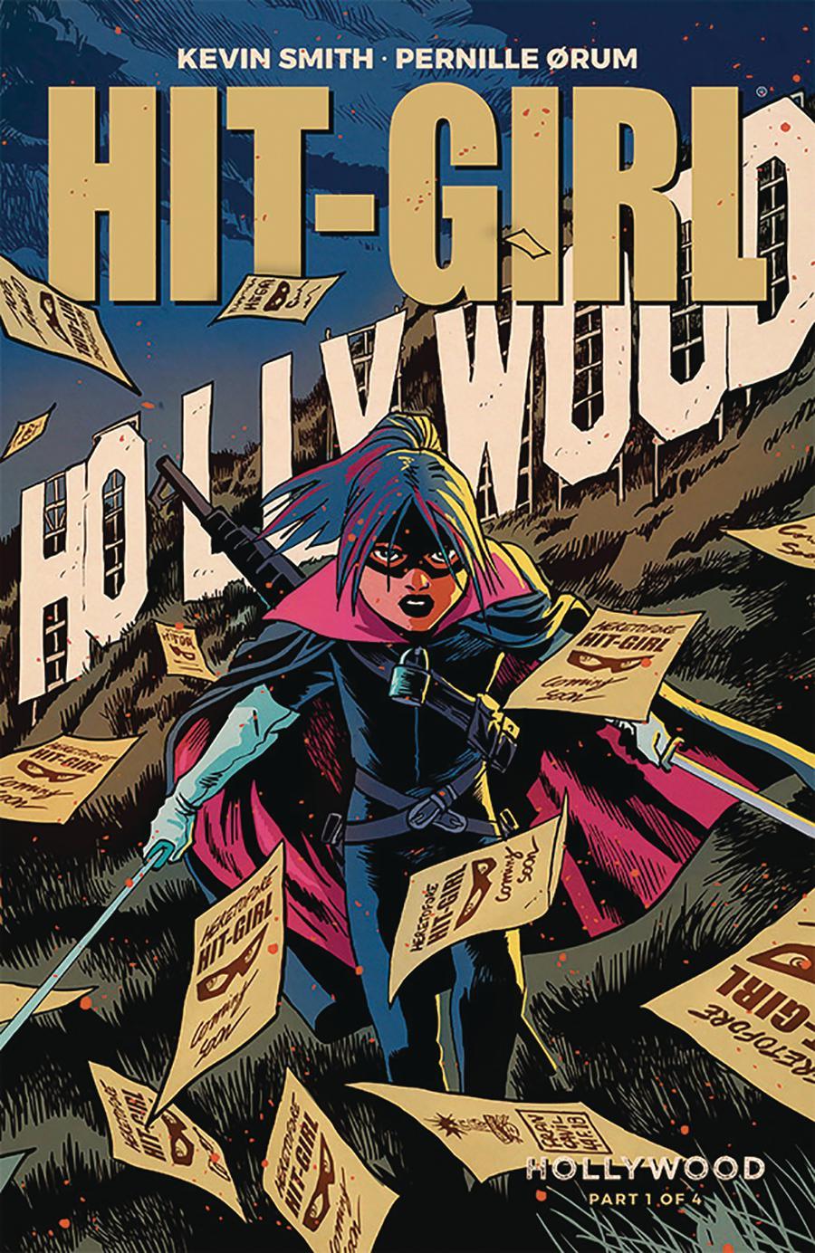 Hit-Girl Vol 2 Season 2 #1 Cover A Regular Francesco Francavilla Color Cover