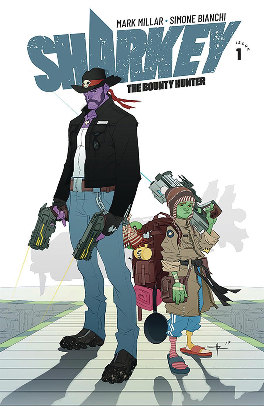 Sharkey The Bounty Hunter #1 Cover E Variant Ozgur Yildirim Cover