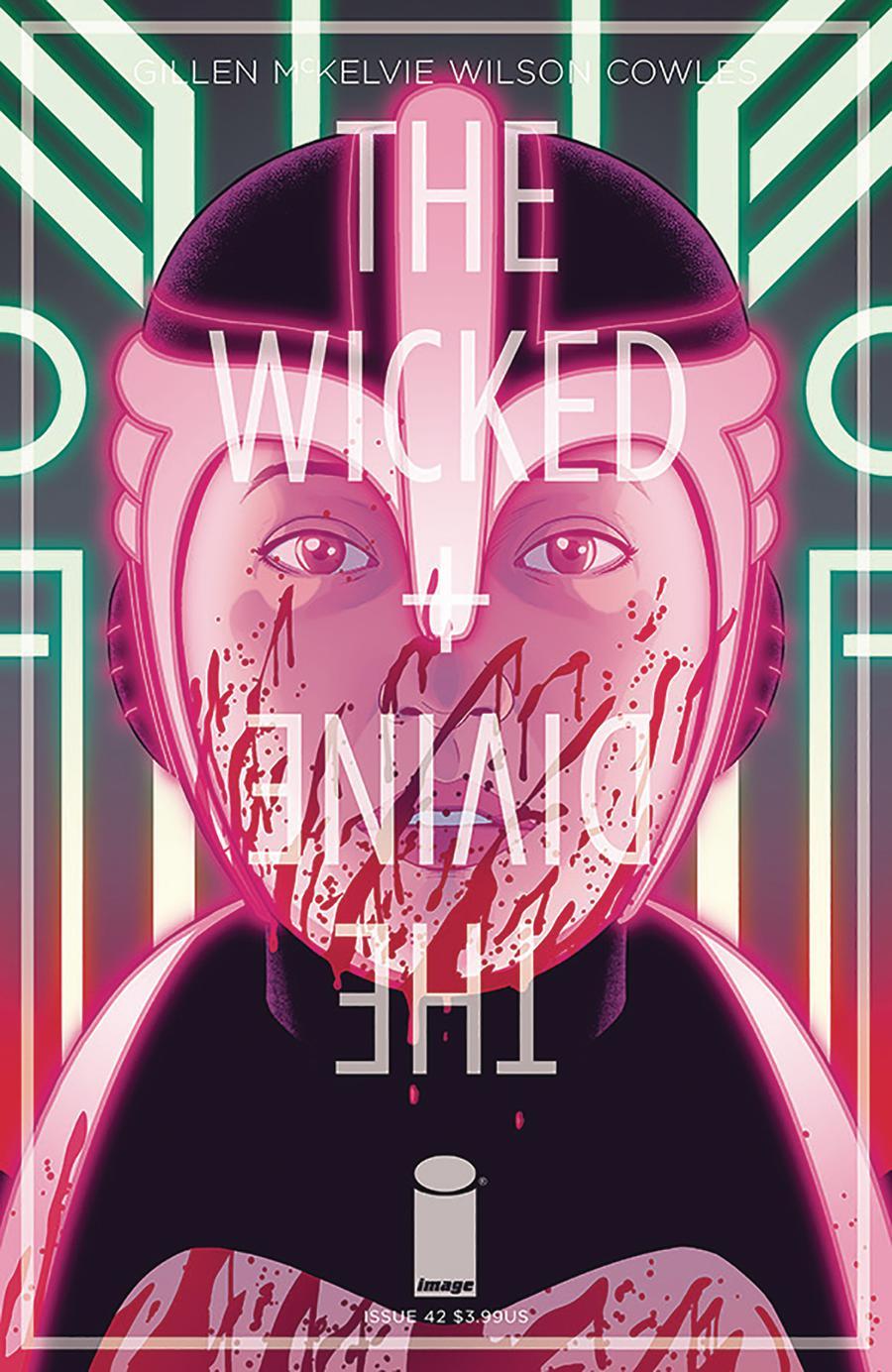 Wicked + The Divine #42 Cover A Regular Jamie McKelvie & Matt Wilson Cover