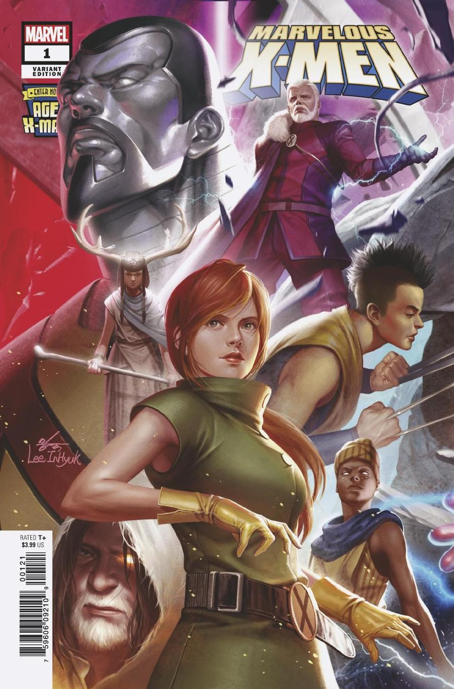 Age Of X-Man Marvelous X-Men #1 Cover B Variant Inhyuk Lee Connecting Cover