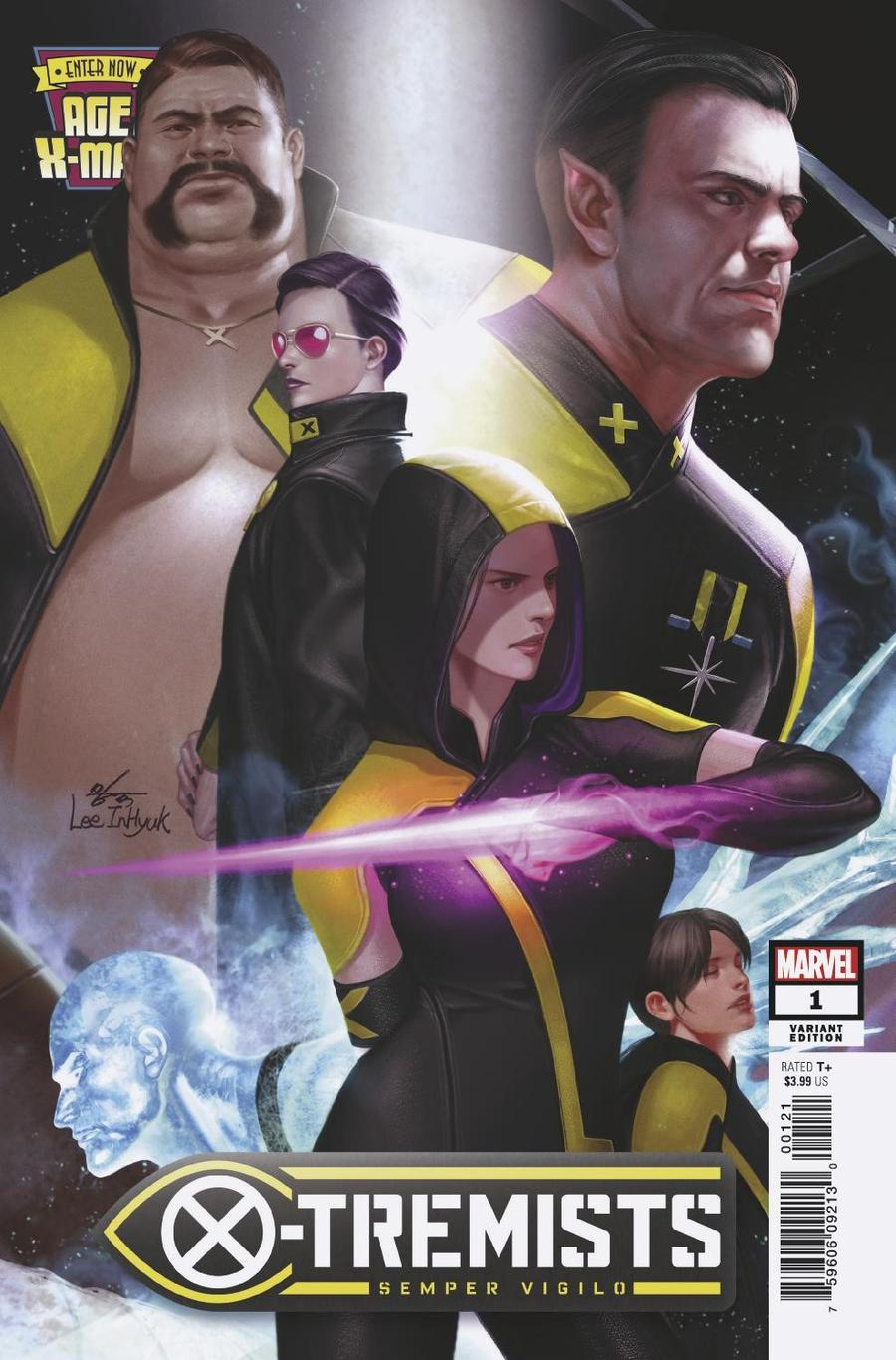 Age Of X-Man X-Tremists #1 Cover B Variant Inhyuk Lee Connecting Cover