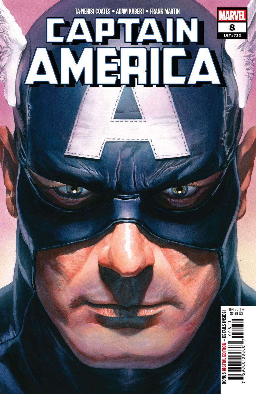 Captain America Vol 9 #8 Cover A Regular Alex Ross Cover