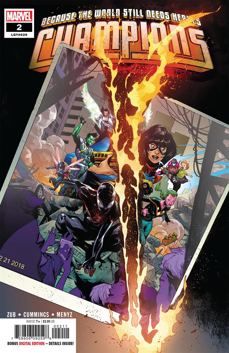 Champions (Marvel) Vol 3 #2 Cover A Regular Kim Jacinto Cover