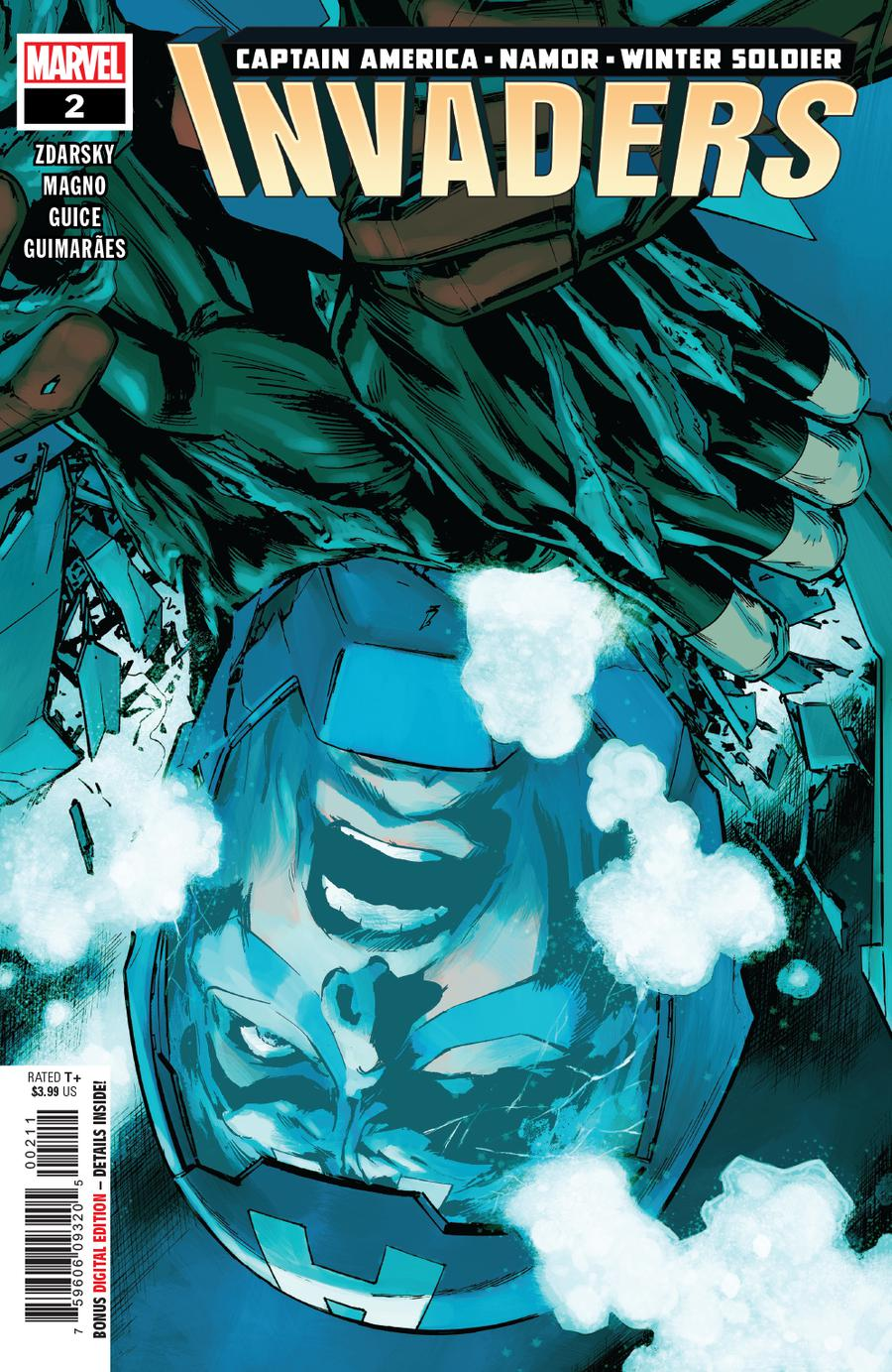 Invaders Vol 3 #2 Cover A 1st Ptg