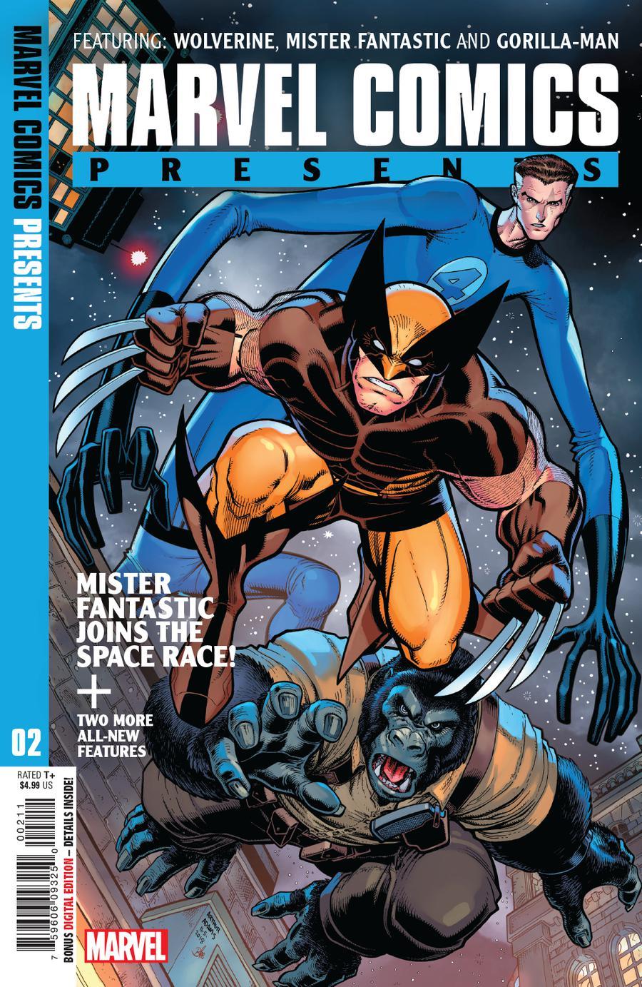 Marvel Comics Presents Vol 3 #2 Cover A 1st Ptg Regular Arthur Adams Cover