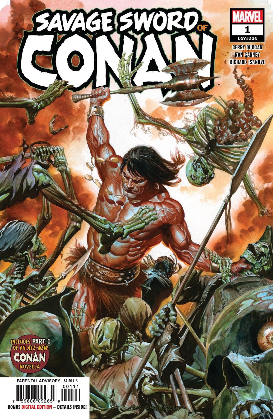 Savage Sword Of Conan #1 Cover A 1st Ptg Regular Alex Ross Cover
