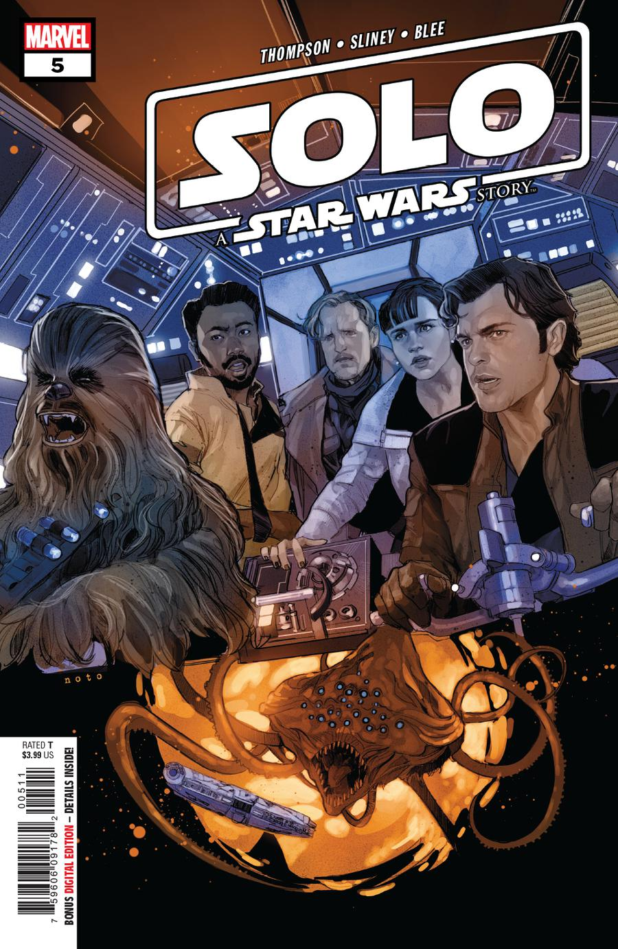 Solo A Star Wars Story Adaptation #5 Cover A Regular Phil Noto Cover