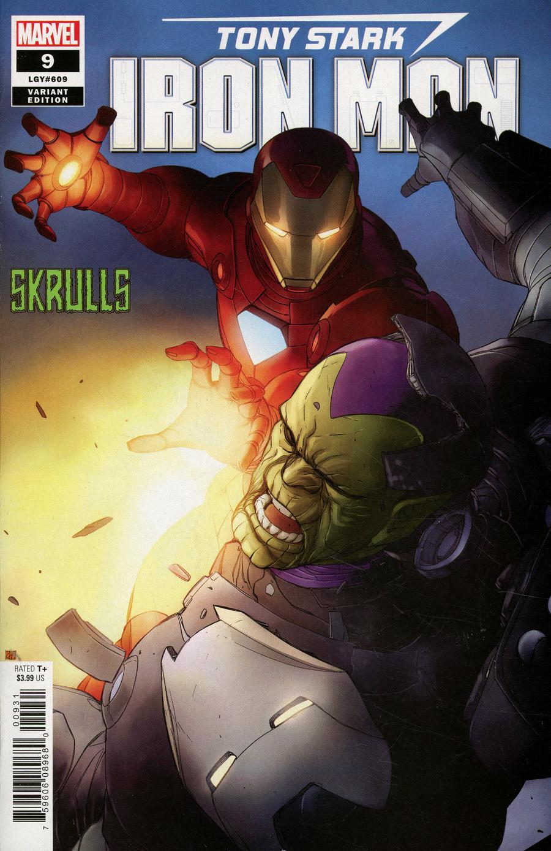 Tony Stark Iron Man #9 Cover B Variant Khoi Pham Skrulls Cover
