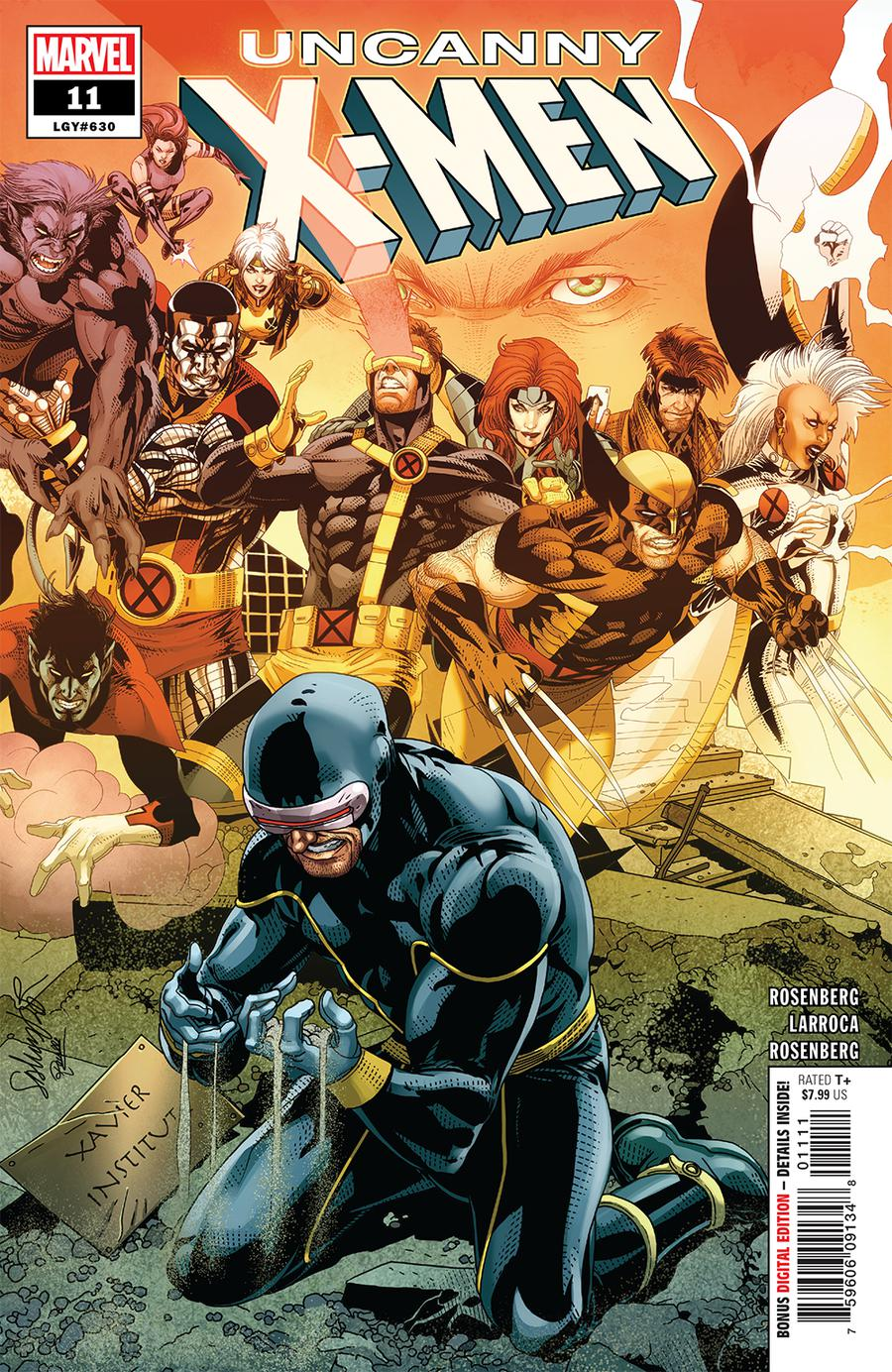 Uncanny X-Men Vol 5 #11 Cover A Regular Salvador Larroca Cover