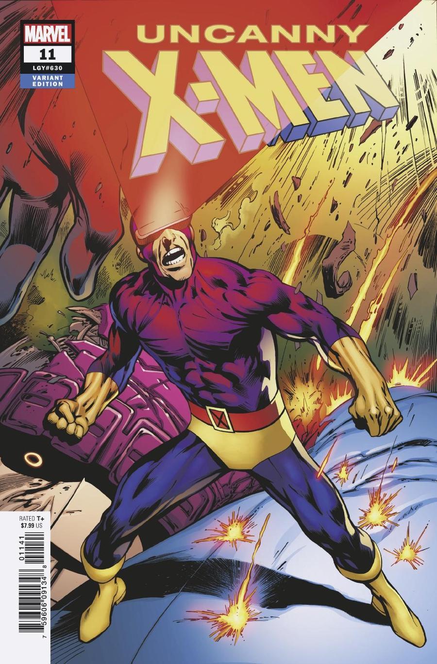 Uncanny X-Men Vol 5 #11 Cover D Variant Alan Davis Character Cover