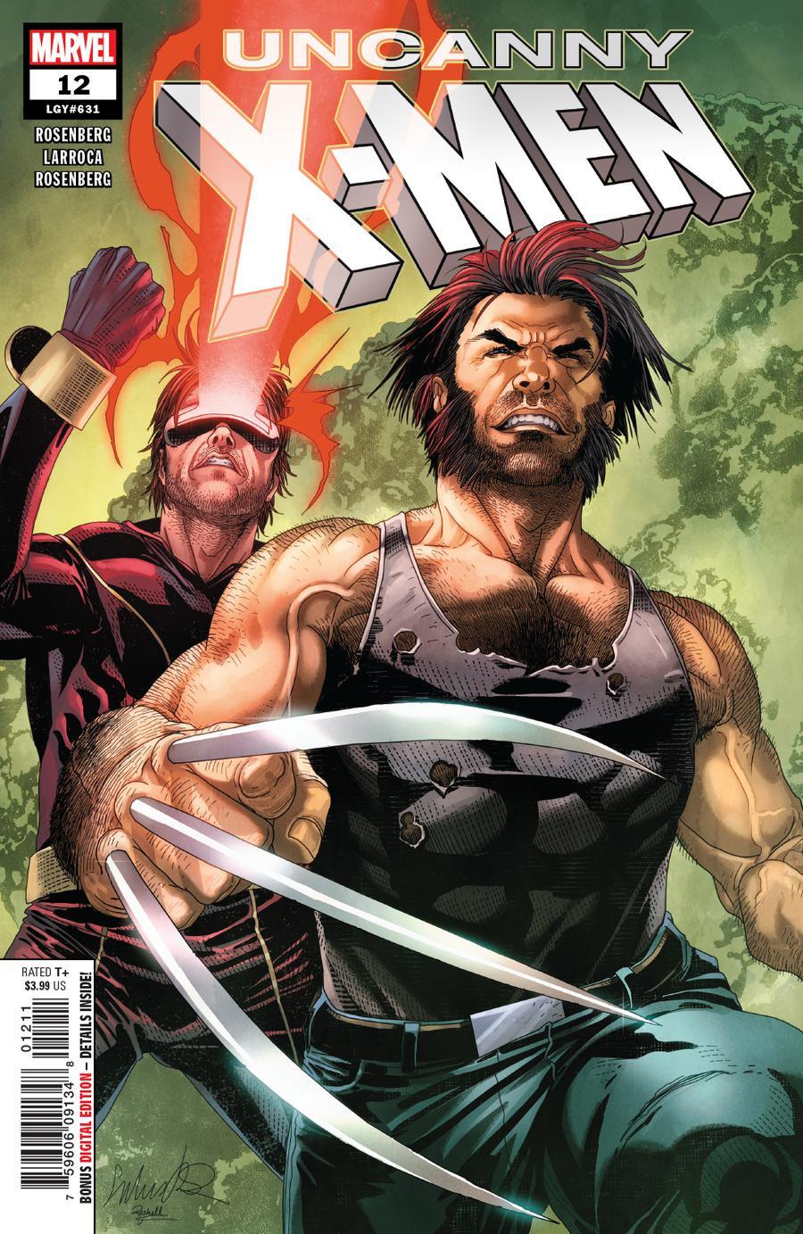 Uncanny X-Men Vol 5 #12 Cover A 1st Ptg Regular Salvador Larroca Cover