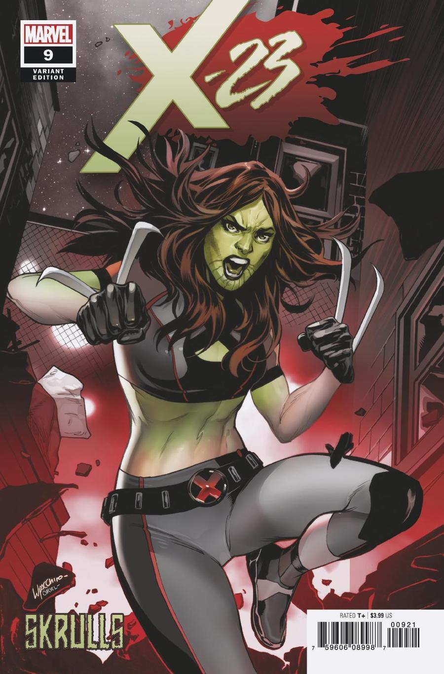 X-23 Vol 3 #9 Cover B Variant Emanuela Lupacchino Skrulls Cover