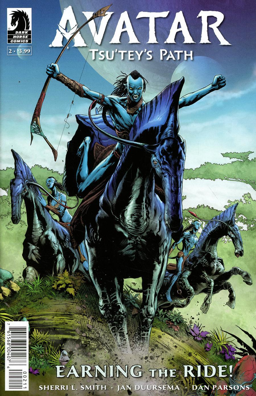 Avatar Tsuteys Path #2 Cover A Regular Doug Wheatley Cover