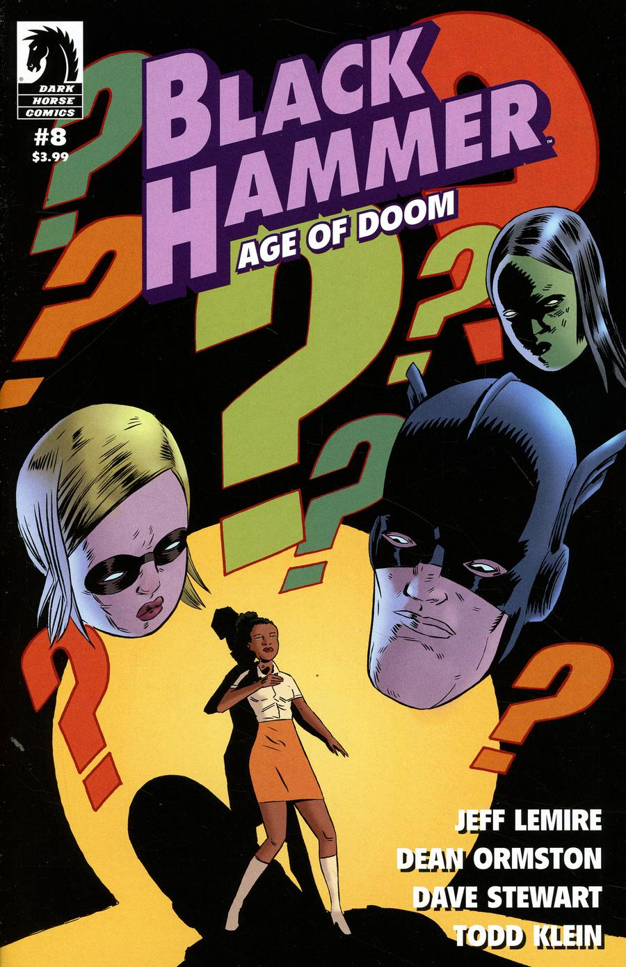 Black Hammer Age Of Doom #8 Cover A Regular Dean Ormston Cover