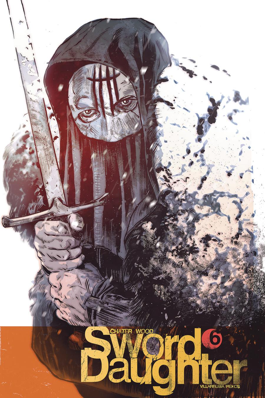 Sword Daughter #6 Cover B Variant Mack Chater Cover